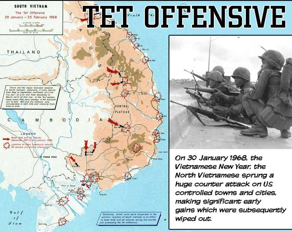 Image result for when did the tet offensive began